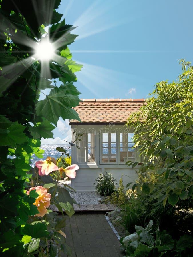 Paradisträdgård royaltyfria foton