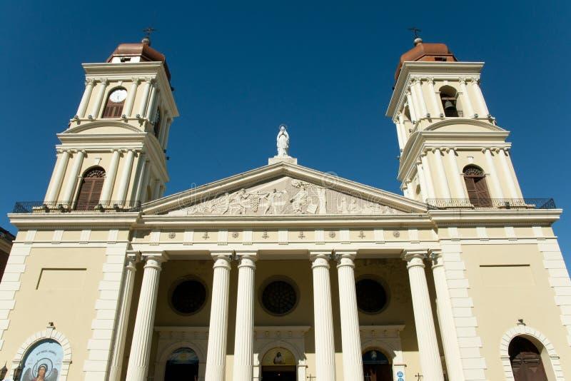 Parafia Nasz dama Tucuman, Argentyna inkarnacja - zdjęcia stock