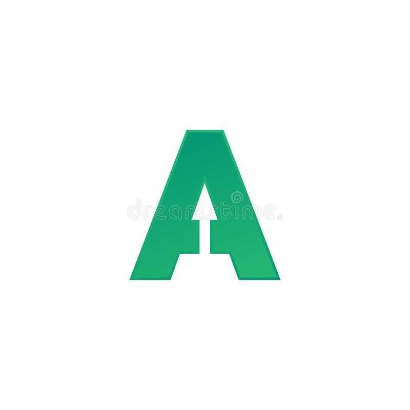 Parafuje A logotyp Abstrakcjonistyczny poruszający powiewny logo ikony projekt, gotowego symbolu wektoru kreatywnie znak ilustracji