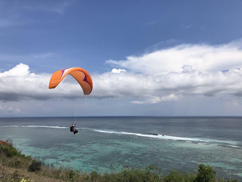 Paraglide lizenzfreies stockbild