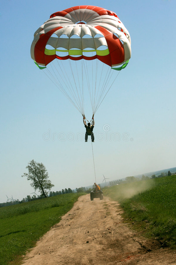 Download Paraglide stock image. Image of active, parasail, aerial - 3500671
