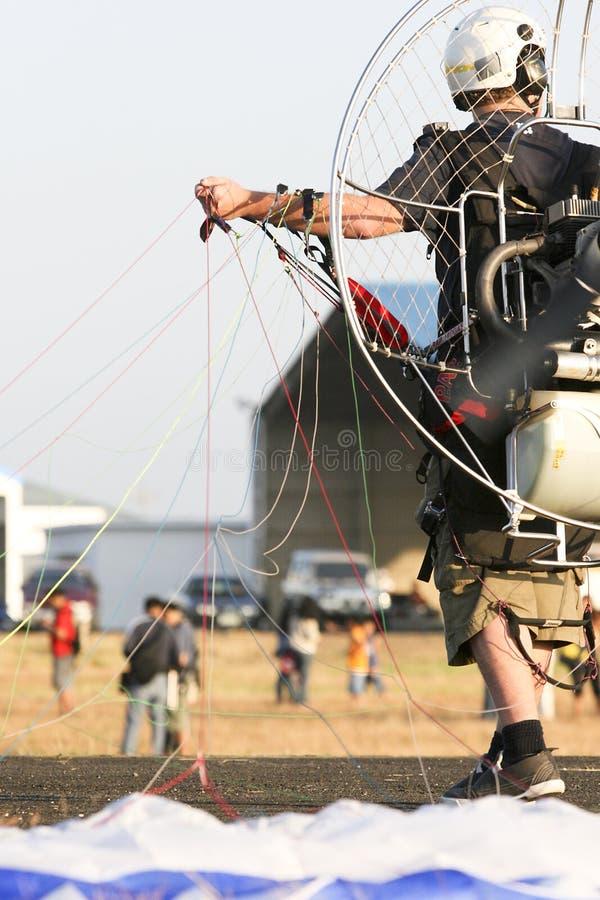 Paraglider fotografia de stock royalty free