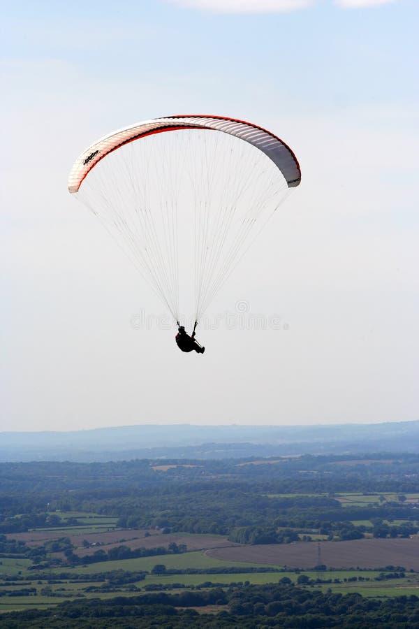 Paraglider. stock image