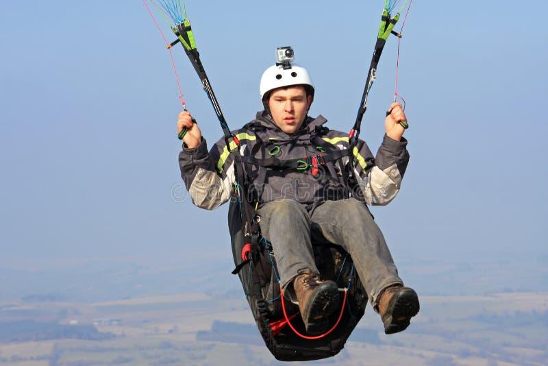 Paraglider imagens de stock royalty free