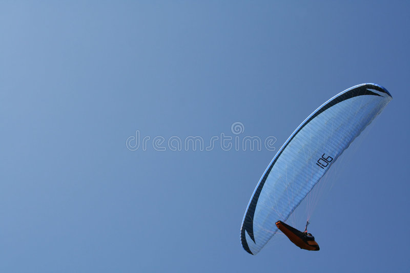 paraglider obraz stock
