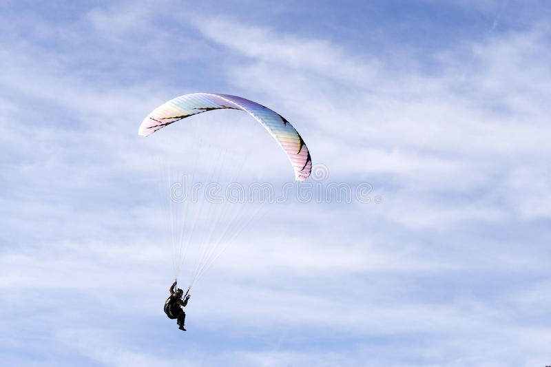 Download Paraglider At Chateau D'Oex Editorial Stock Photo - Image: 12670988