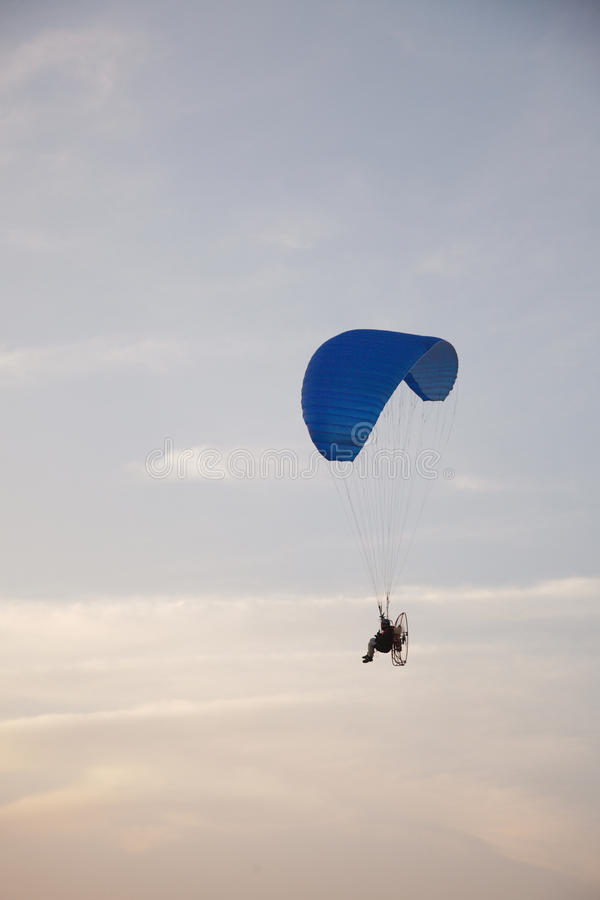 Download Paraglider - Feeling free stock image. Image of adventure - 15956085