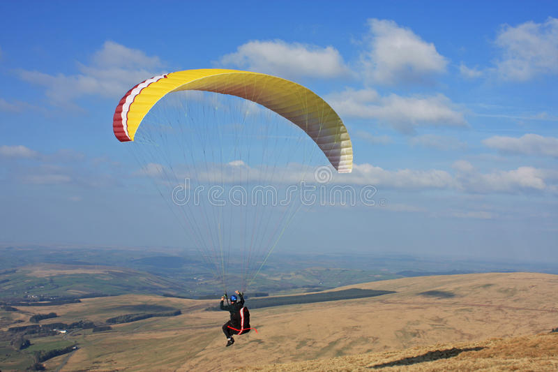 Download Paraglider stock photo. Image of reservoir, recreation - 29941608