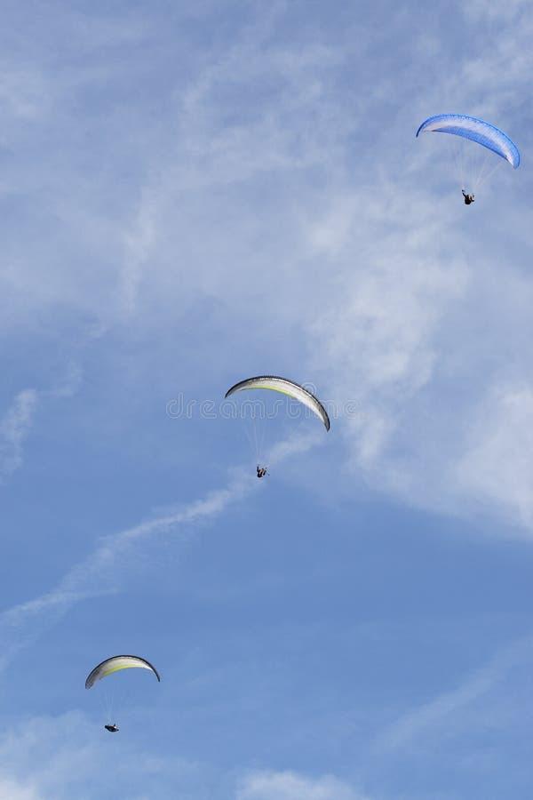 paragliders zdjęcia stock