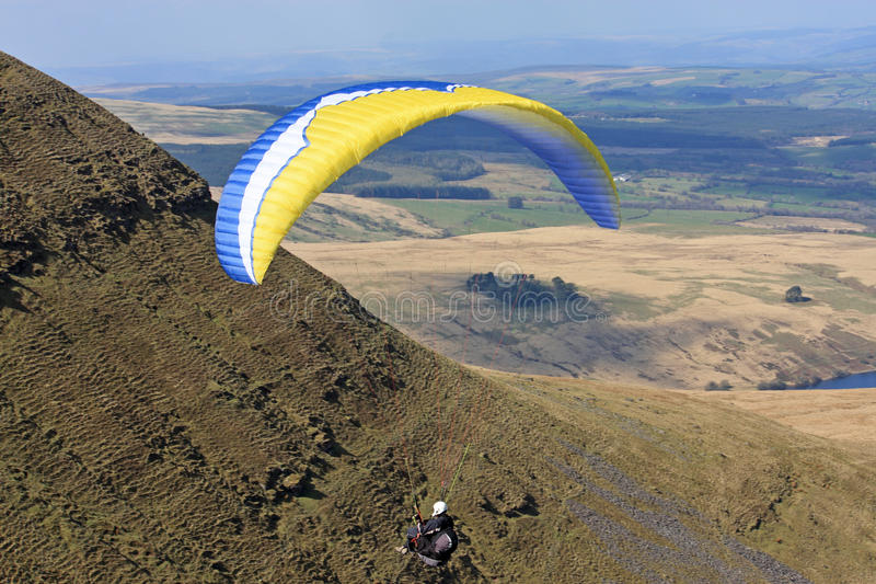 Download Paragliders stock image. Image of paragliding, speed - 29469913