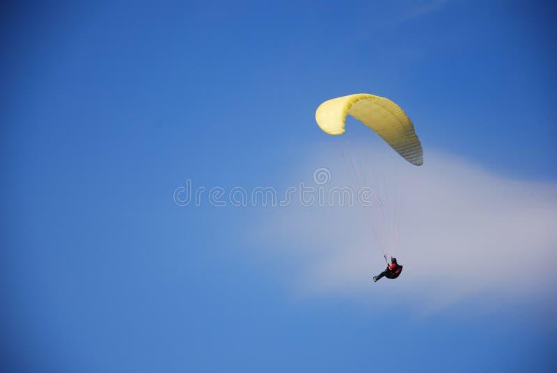 Paragliding foto de stock