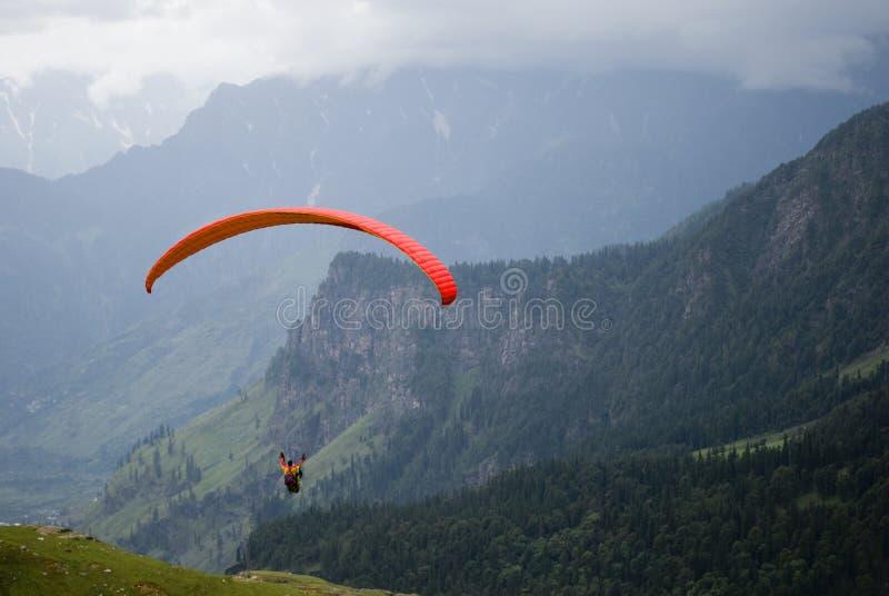 paragliding obrazy stock