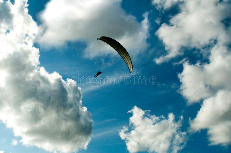 Download Paragliding stock image. Image of glider, extreme, freedom - 13646489