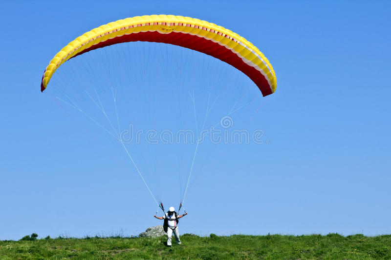 Download Paragliding editorial photography. Image of beautiful - 14579802