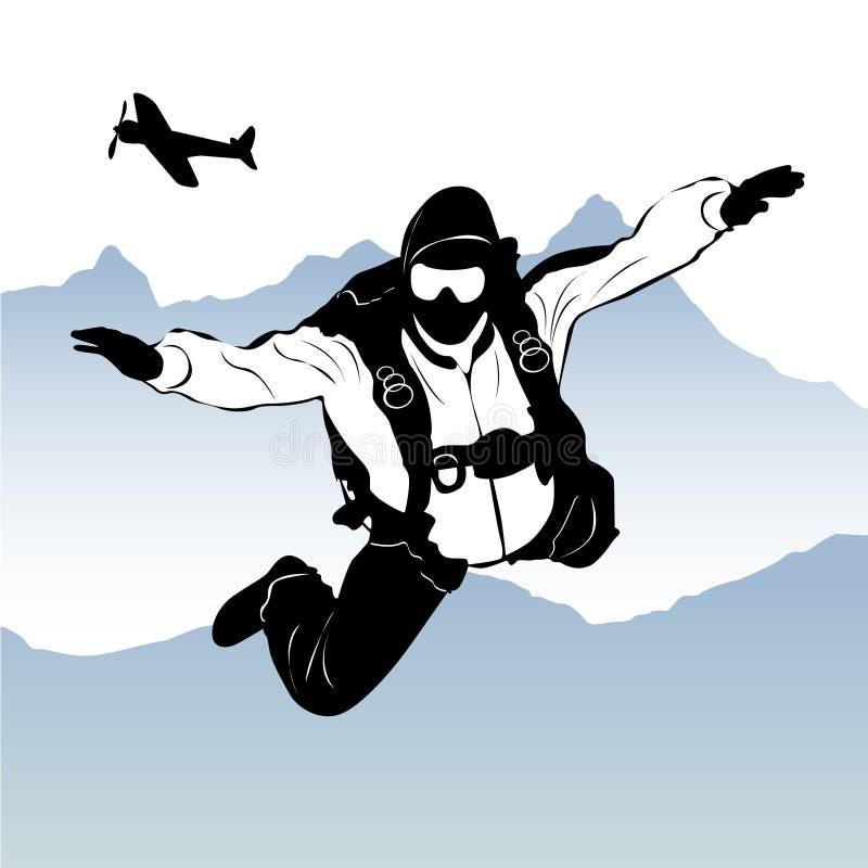 paragliding бесплатная иллюстрация