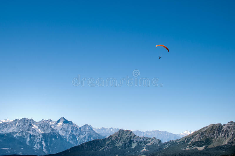 Download Paragliding stock image. Image of deep, extreme, active - 17418119