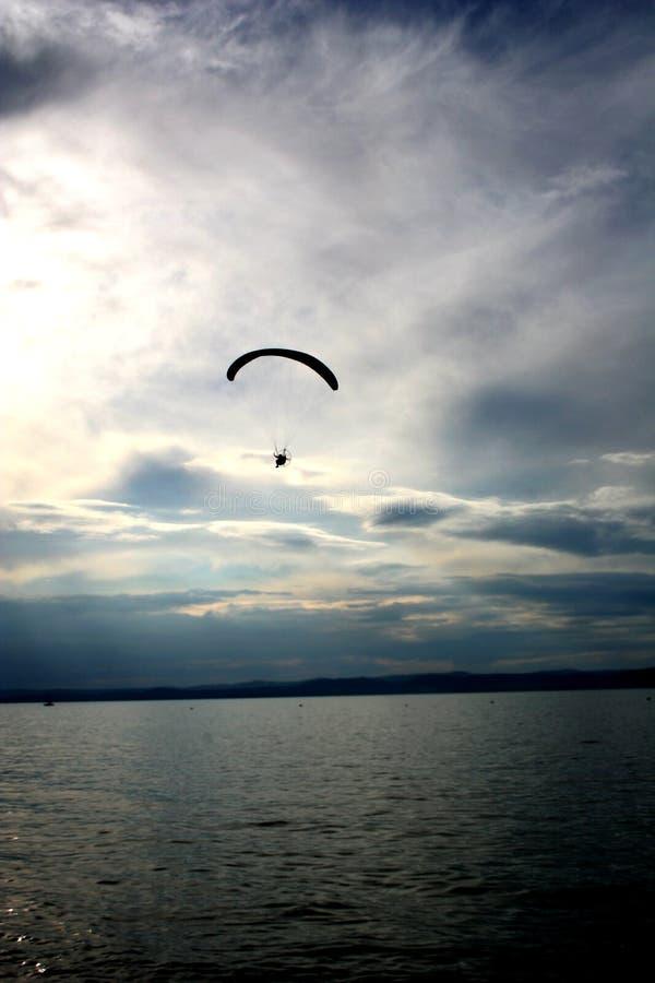 Download Paragliding stock photo. Image of balaton, float, flying - 176530