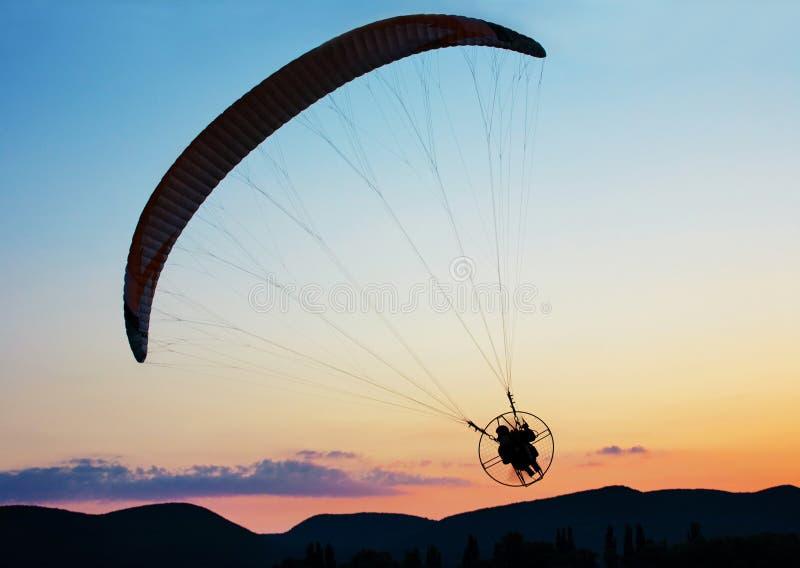 Paragliding fotografia royalty free