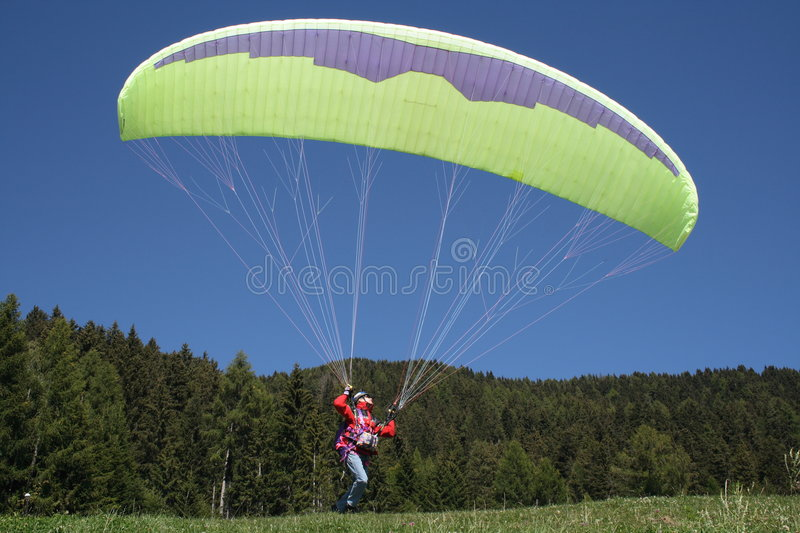 Download Paragliding stock image. Image of parafoil, hang, life - 3419577