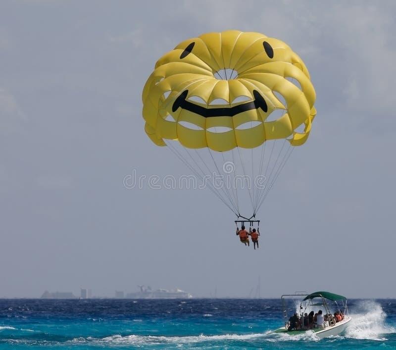 Paragliding fotografía de archivo