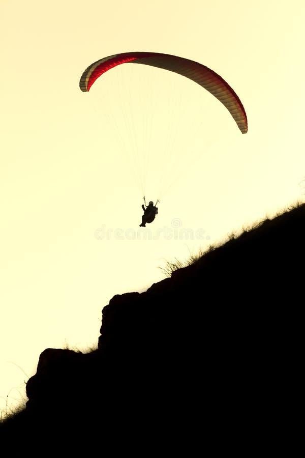 paragliding fotos de stock