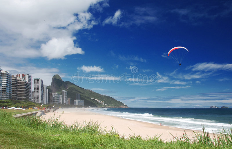Download Paragliding stock image. Image of height, blue, environment - 7764501