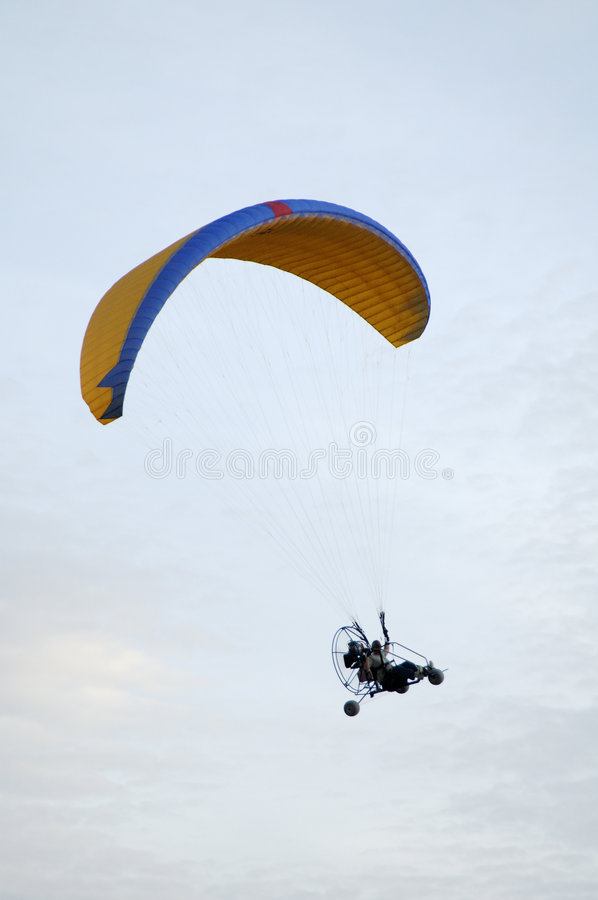 Paragliding 8 royalty free stock photography