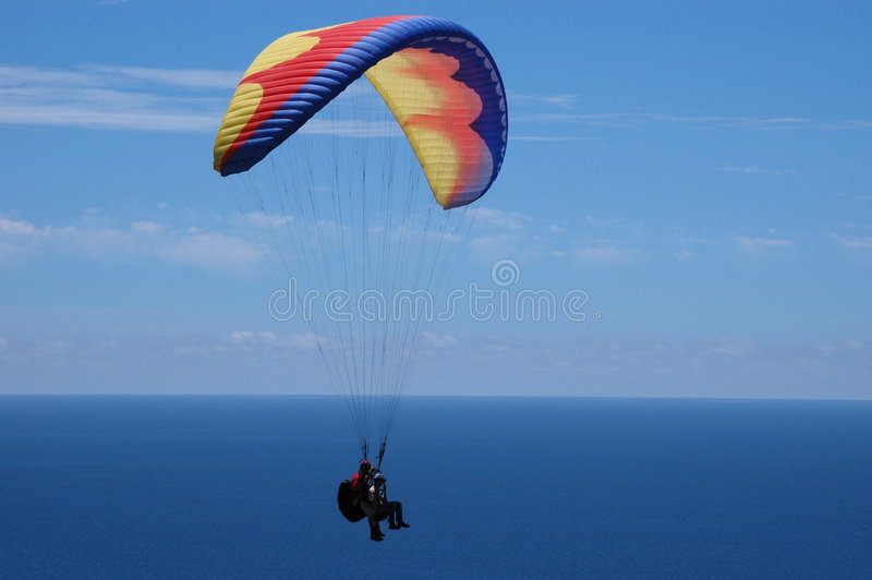 Paragliding royalty free stock images
