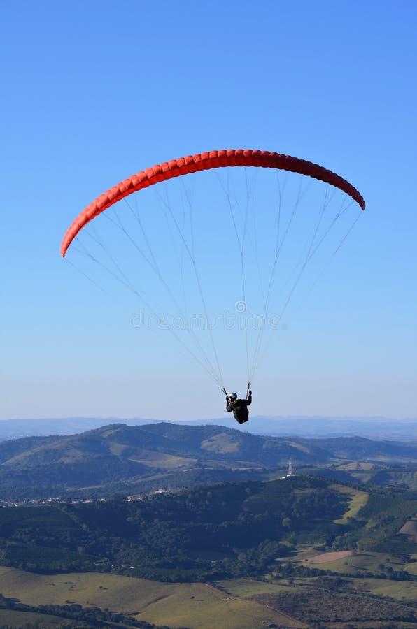 paragliding stockfotos