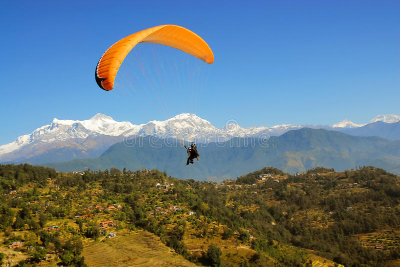 Download Paragliding Stock Image - Image: 9964981
