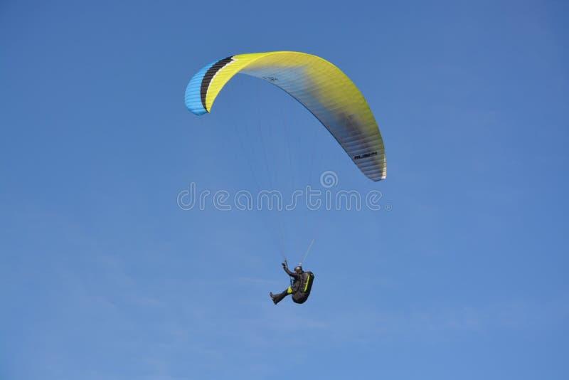 Paragliding, Air Sports, Sky, Parachuting royalty free stock photos