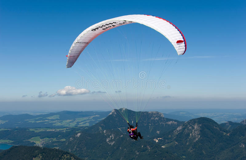 Download Paragliding In Alps Editorial Photo - Image: 26619281