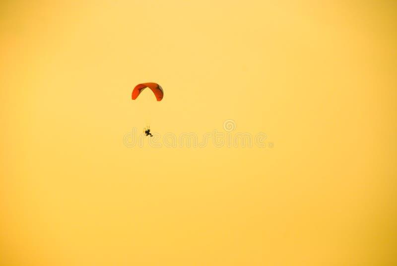 Paragliding lot fotografia royalty free