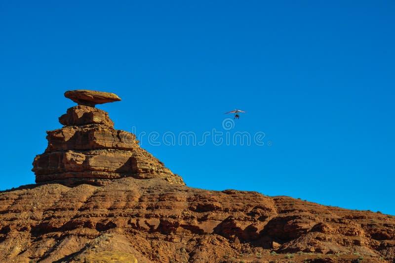 Download Paragliding At Mexican Hat, Utah, USA Stock Photo - Image: 42154510