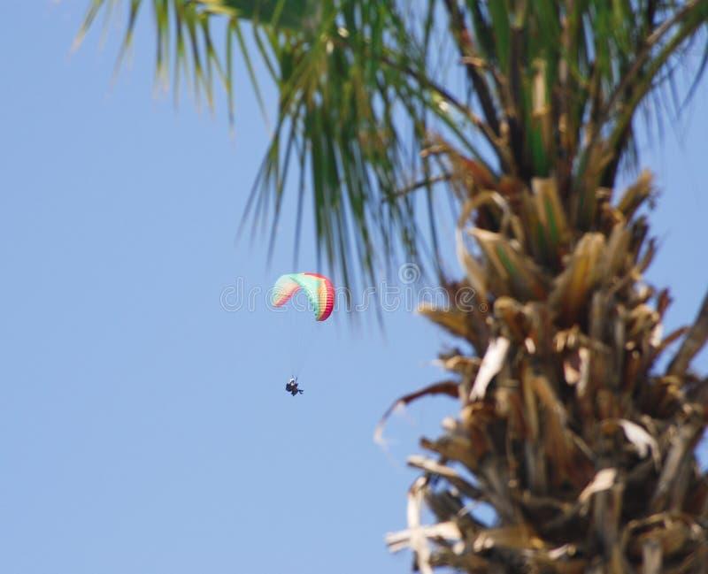 paragliding oludeniz стоковое фото rf