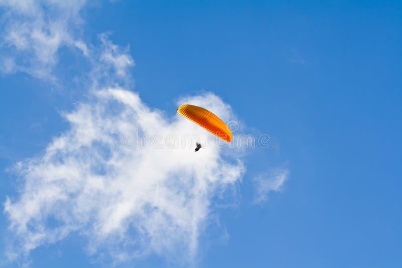 Paragliding pilot