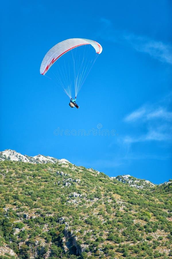 Paraglinding w oludeniz Turcja zdjęcia royalty free