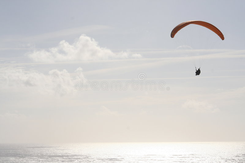 Paraglyder immagine stock