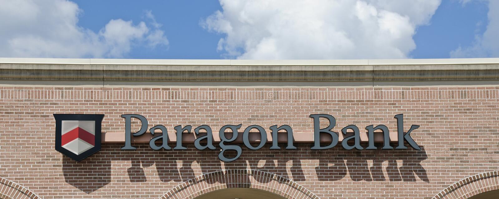Paragon Bank Building stock photography