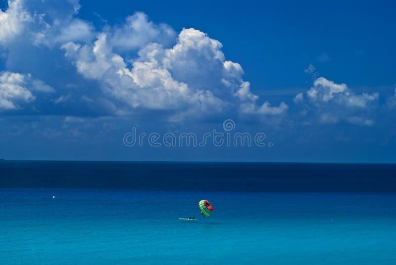 Paragraaf-vaart in Cancun royalty-vrije stock afbeelding