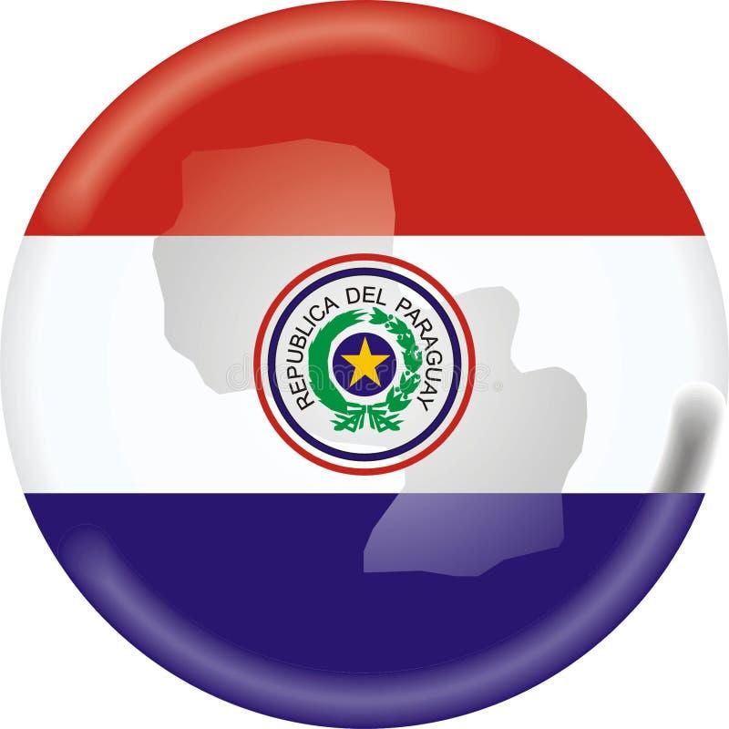 Paraguai ilustração stock