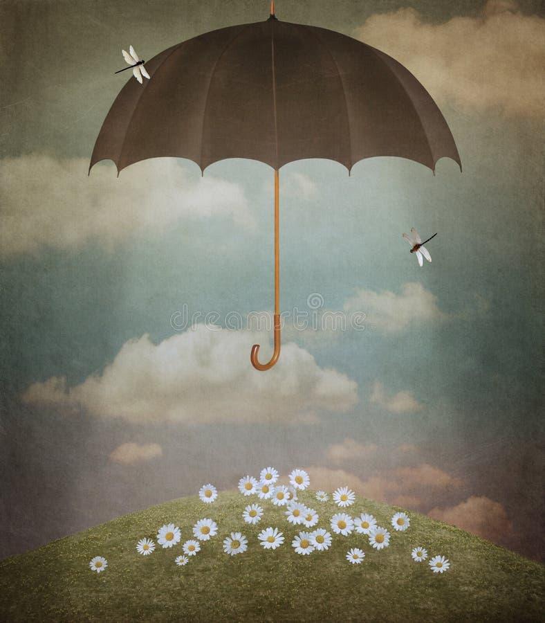 Paraguas libre illustration