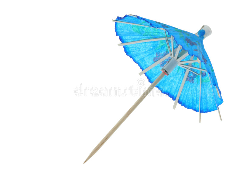 Paraguas asiático del coctel fotos de archivo libres de regalías