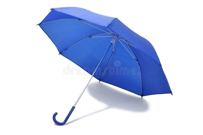 Paraguas azul fotografía de archivo