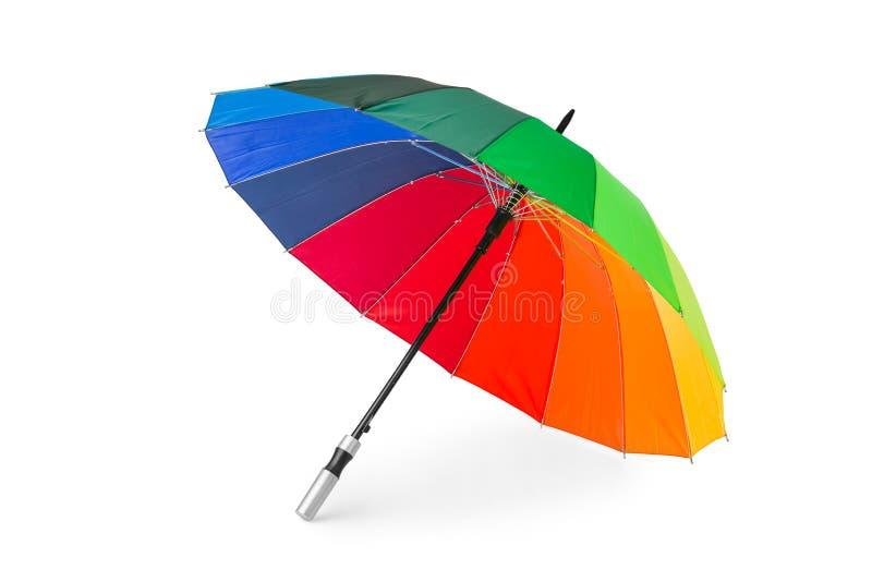 Paraguas colorido imágenes de archivo libres de regalías