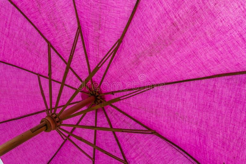 Paraguas con púrpura fotografía de archivo libre de regalías