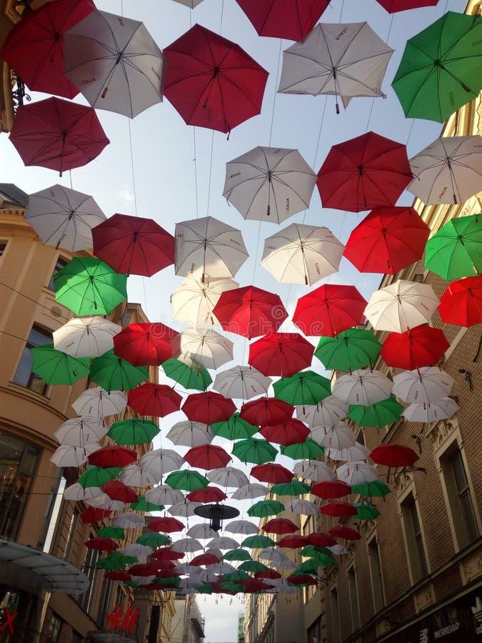 Paraguas de Brnos foto de archivo