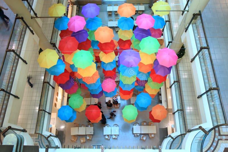 Paraguas De La Alameda De Compras Foto de archivo editorial
