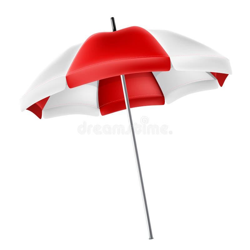 Paraguas del parasol para el diseño del verano y del día de fiesta stock de ilustración