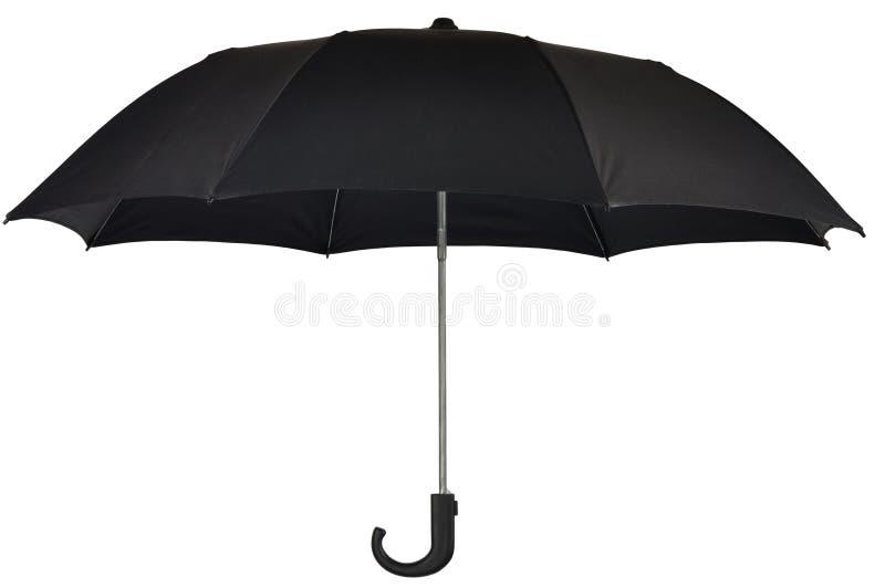 Paraguas negro fotografía de archivo